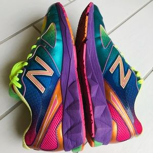new balance rainbow sneakers